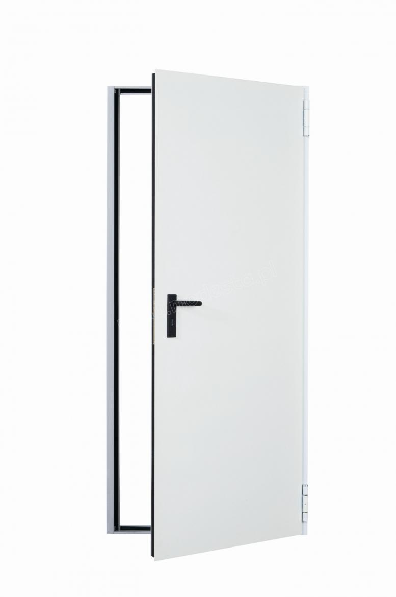 steel plate solid fire doors EI30 in standard size